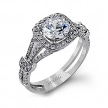 Simon G Engagement Ring from the Delicate Collection