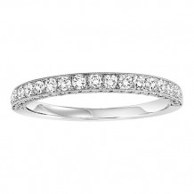 14k White Gold 1/2ct Diamond Wedding Band