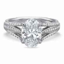 Precision Set Extraordinary Collection Diamond Engagement Ring