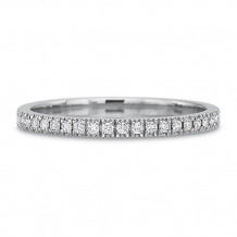 Precision Set Prong Set Diamond Anniversary Band