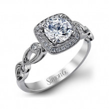 Simon G Engagement Ring from the Passion Collection