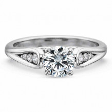 Precision Set New Aire Collection Graduated Diamond Loop Engagement Ring