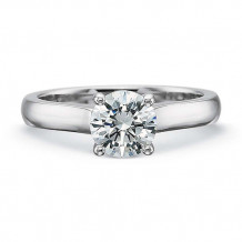 Precision Set Petite FlushFit Collection Solitaire Engagement Ring