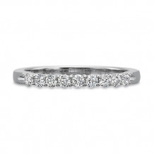 Precision Set Nine Diamond Shared Prong Wedding Band