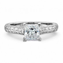 Precision Set FlushFit Collection Solitaire Engagement Ring